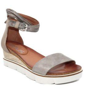 Sandalo donna pelle grigia – Mjus