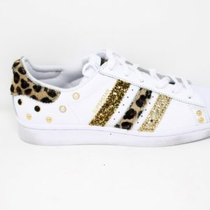 Adidas Superstar Maculate Glitter & Borchie – Ballodasola