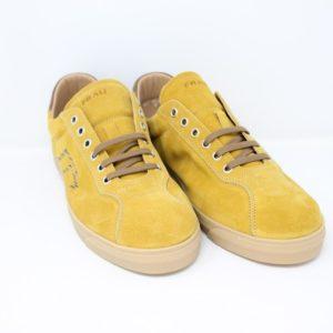 2650O-Sneaker camoscio – Frau