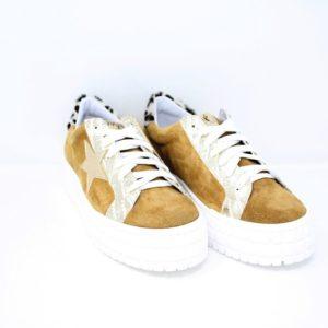 MCSENS14-Sneaker in camoscio – Ovyè