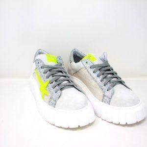 MCAIDA02S-Sneaker stella fluo – Ovyè