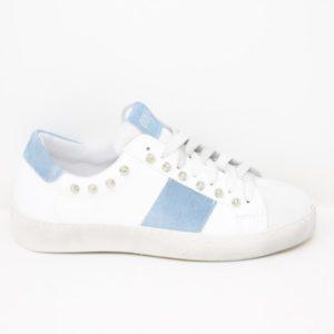 SENS14-FAJ-Sneaker in pelle borchie – Ovyè