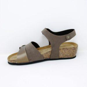 388-Sandalo  doppia fascia – Goldstar