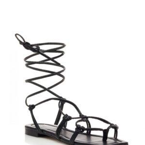 LL7351-Sandalo schiava pitonato – Ovyè